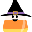 cute-clipart-candy-corn-wearing-witches-hat